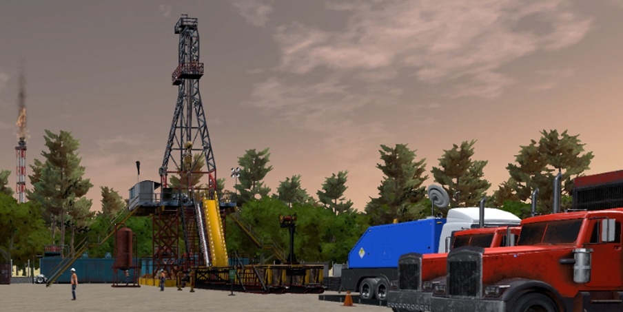virtual reality training oil and gas